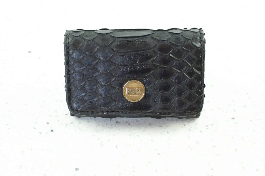 6.1a black mini wallet  scaled