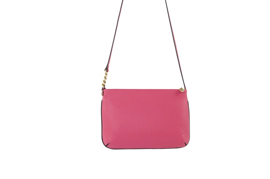 Star 2.0 Bag in Pink / Cross Body with Gold Logo