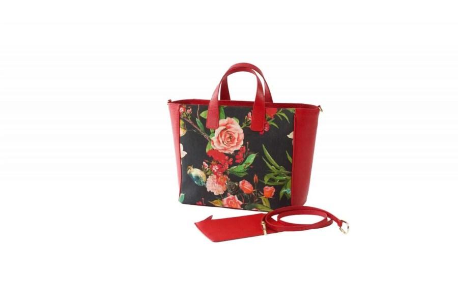 FLOWER B TOTE BAG