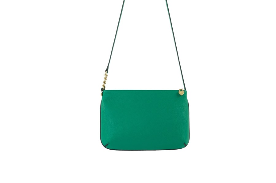 Star 2.0 Bag in Green / Cross Body with Black Logo