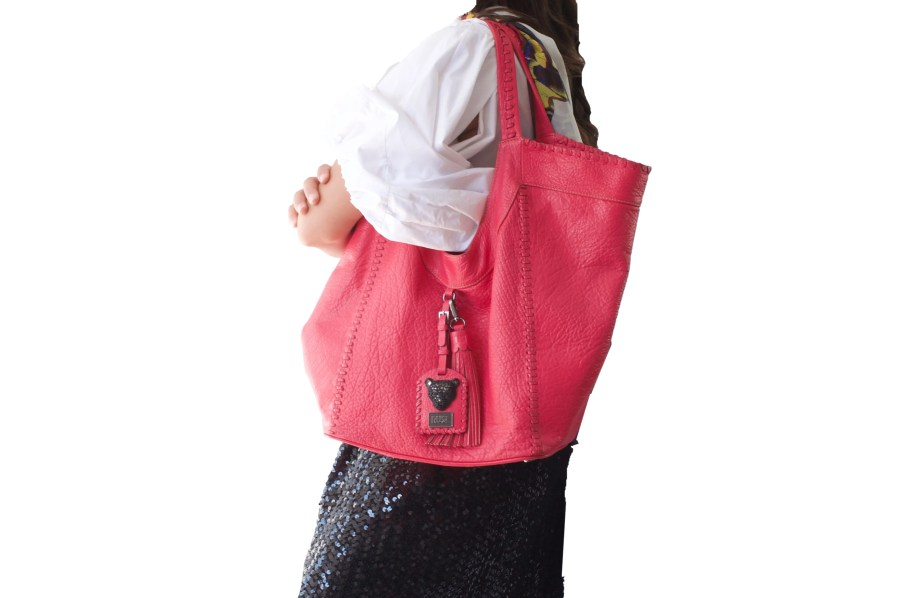 Pink Hobo bag Sara Bag RusiDesigns