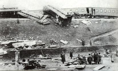 Катастрофа на станции Борки