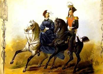 Император Николай I и Императрица Александра Федоровна, Это был истинный Монарх, рожденный, чтобы повелевать народами
