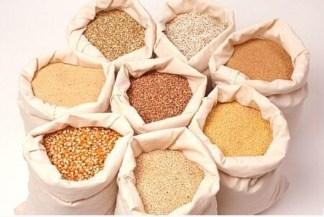 Каши, семечки, сухарики, хлеб/ Kaše, slnečnicové semienka, chlebové čipsy