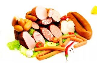 Колбасы, мясные консервы / Klobásy, mäsové konzervy