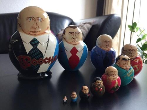 Babusjkadukke fra Putin til Peter den Store