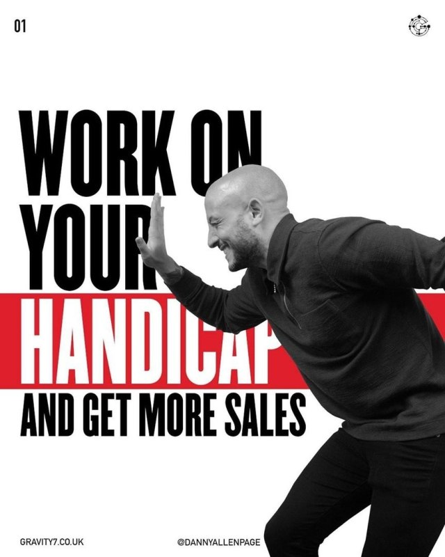 Work on Your Handicap and Get More Sales
