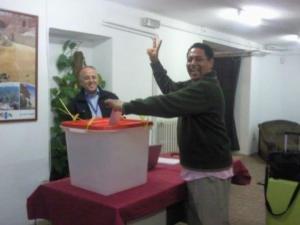 Гласувах! Мадрид, 20 октомври 2011