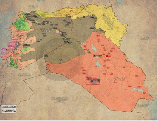 Сирия, Ирак, 02-11-2015г.