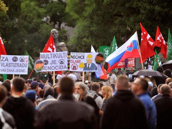 Image result for словакия против мусульман