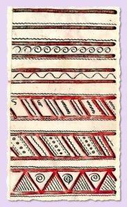 мезенская роспись знаки воды
