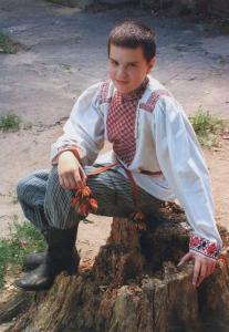 Мужской праздничный костюм Задонского уезда