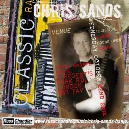 Chris Sands – Classic Ragtime Banjo