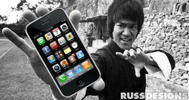 Bruce Lee hearts the iPhone jailbreak