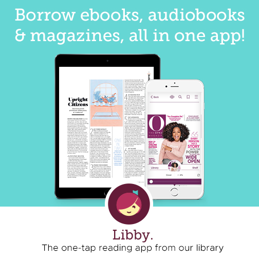 Borrow ebooks, audiobooks & magazines, all in one app!