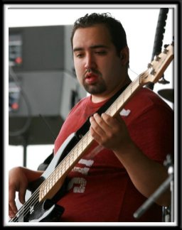 Matt Parris playing during the Dragon Boat Festival