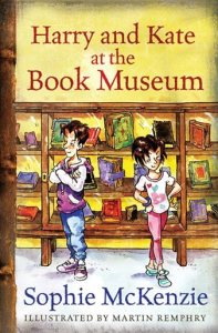 harry and kate at the book museum
