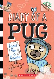 diary of a pug: paws for a cause