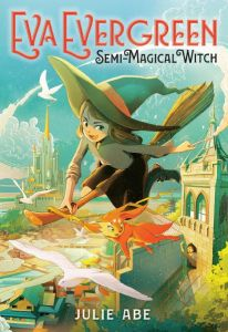 eva evergreen: semi-magical witch