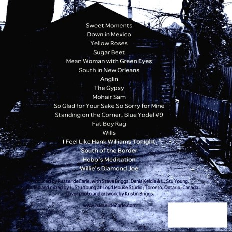 LaLM CD back cover