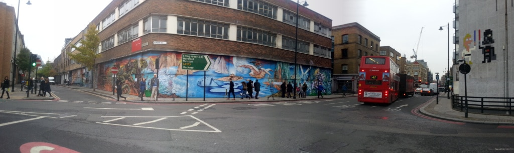 The entire view