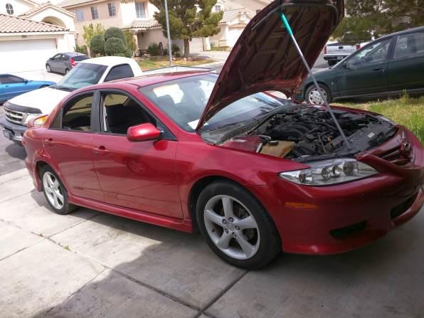 Red Mazda 6