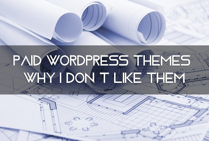 Paid WordPress Themes Worry Me. Here's Why.