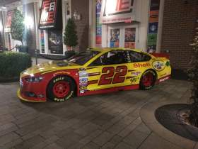 Joey Logano Sprint Cup Series Car- Full Car View