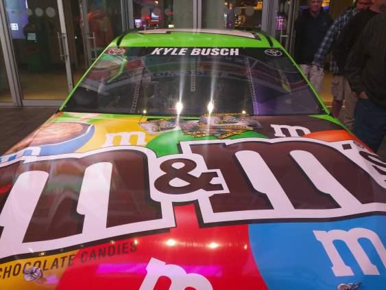 Kyle Busch Sprint Cup Series Car- Front hood