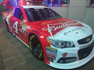 Kevin Harvick Sprint Cup Series Car Championship Week 2015