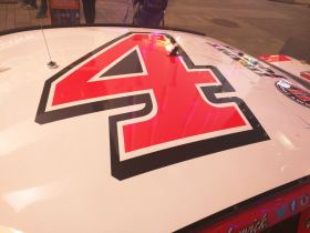 Kevin Harvick Sprint Cup Series Car - Roof