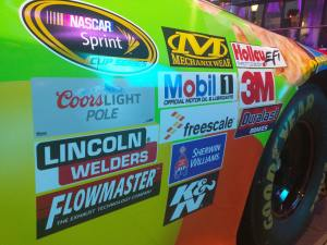 Kyle Busch Sprint Cup Series Car - Front Quarter Panel