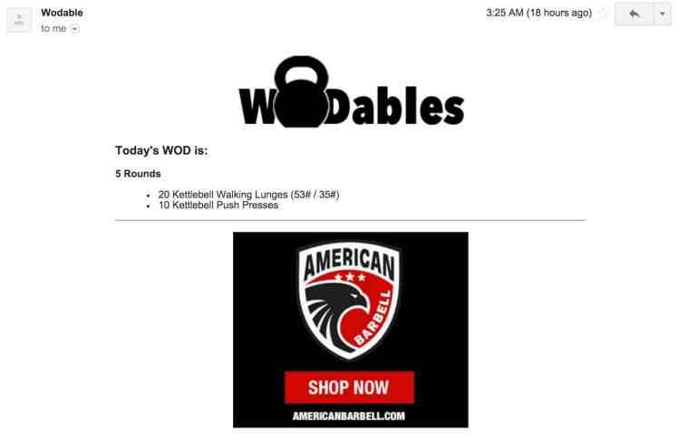 Wodables