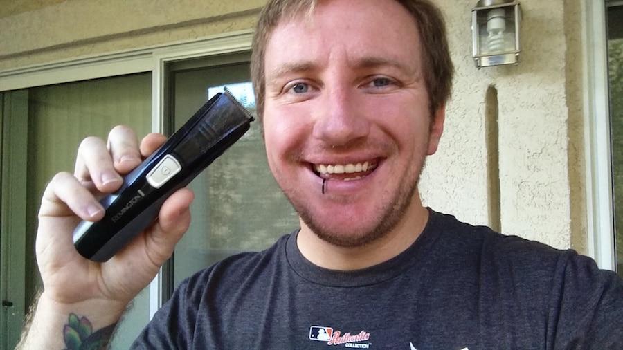 Why I started shaving outside