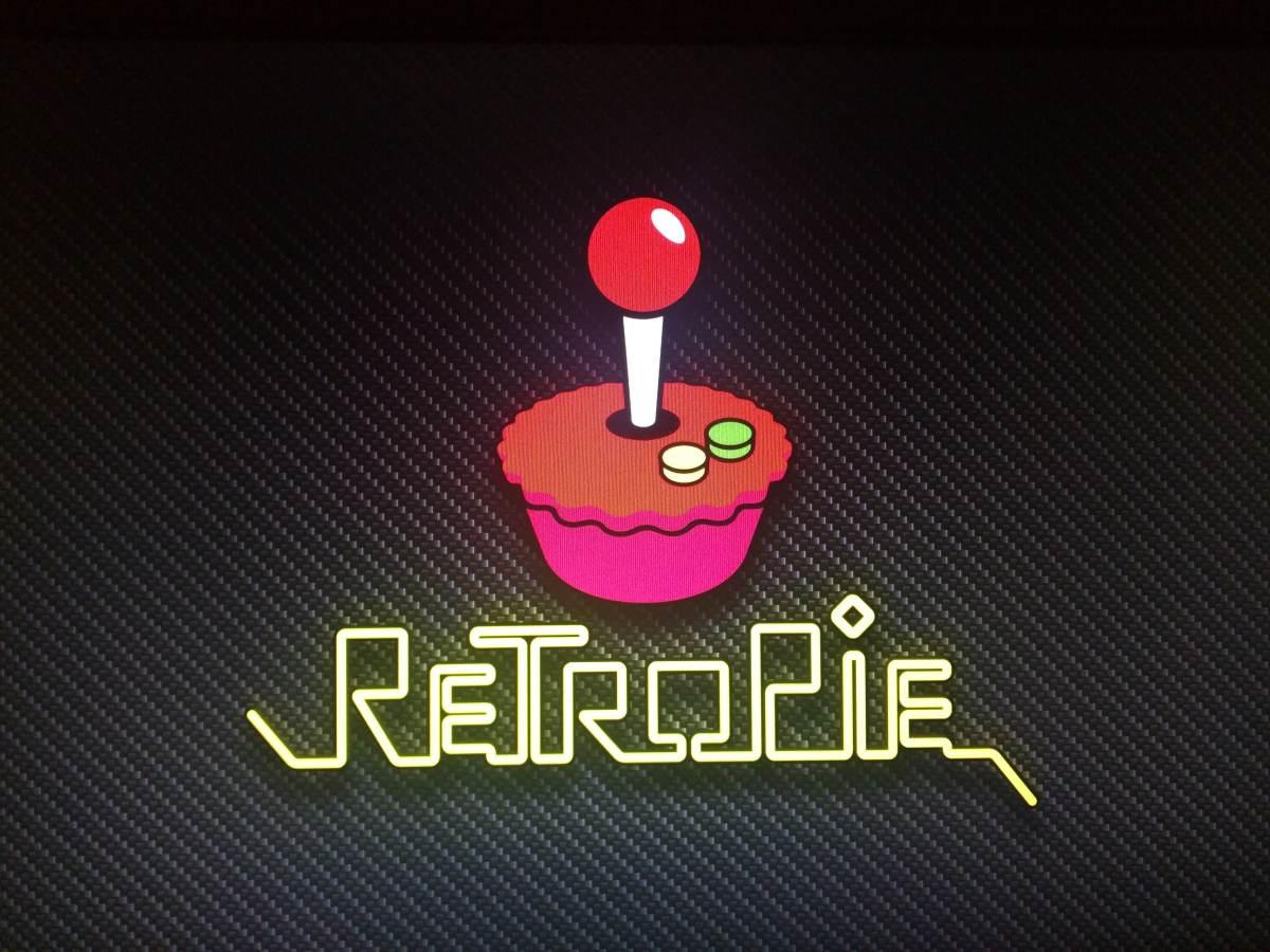RetroPie welcome screen on Raspberry Pi 3