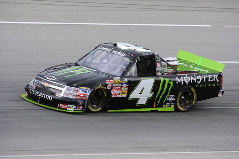 Ricky Carmichael is the first with the new Nascar Sponsor
