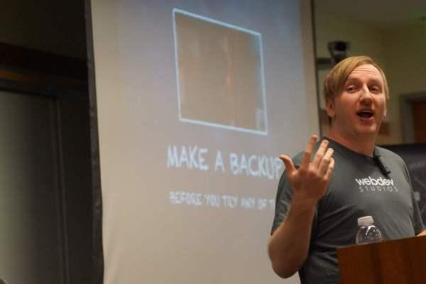Russell Aaron Speaking at WordCamp San Diego