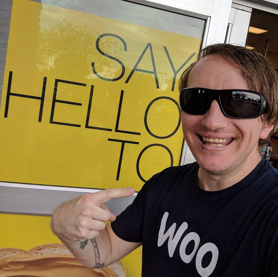 Russell Aaron says hello