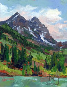 Colorado oil painting by southwest artist Russell Johnson
