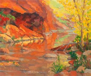 Russell Johnson southwest landscape artist