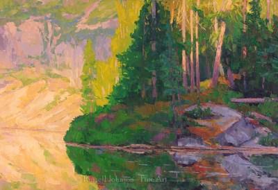 Russell Johnson fine art oil painter