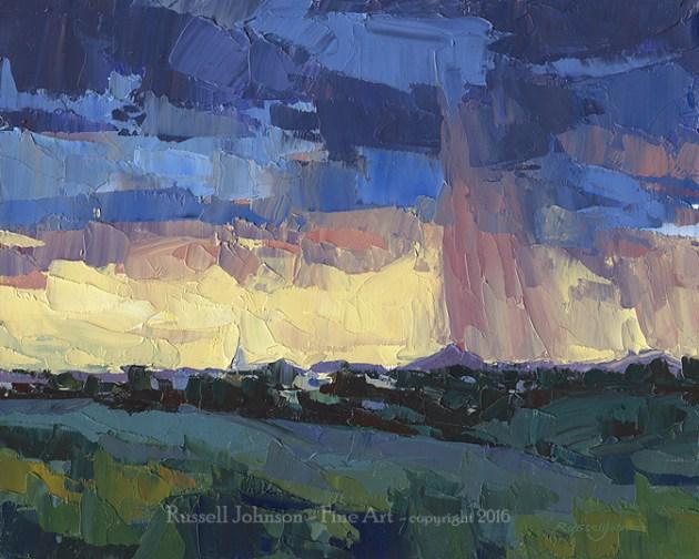 Russell Johnson Prescott landscape artist