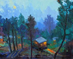 Russell Johnson Prescott, AZ oil painter