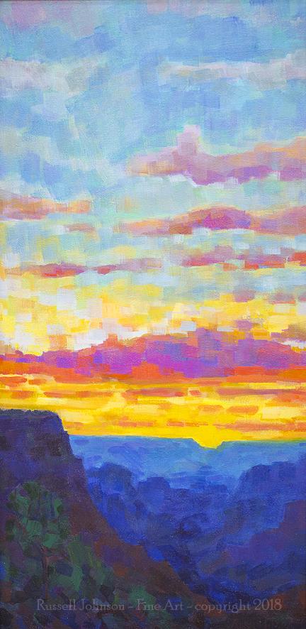 Russell Johnson Grand Canoyn artist
