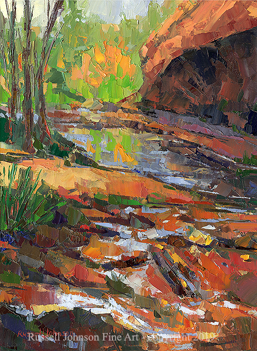 Russell Johnson Arizona oil painter