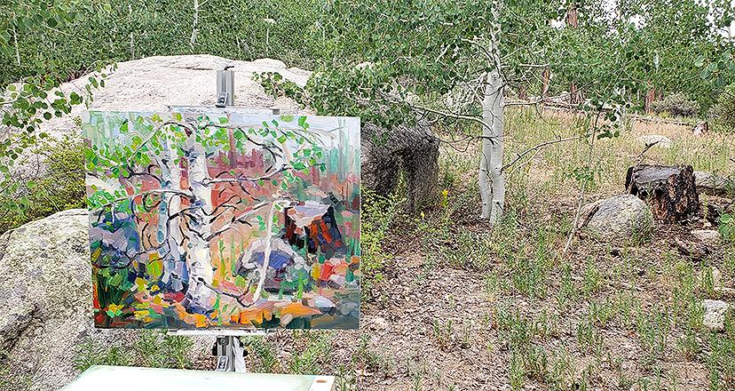 Russell Johnson plein air oil painter