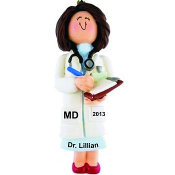 Medical School Graduation Gift Idea Female Brown Hair