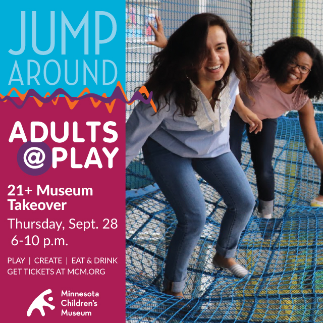 Adults 21 take over the Minnesota Children's Museum