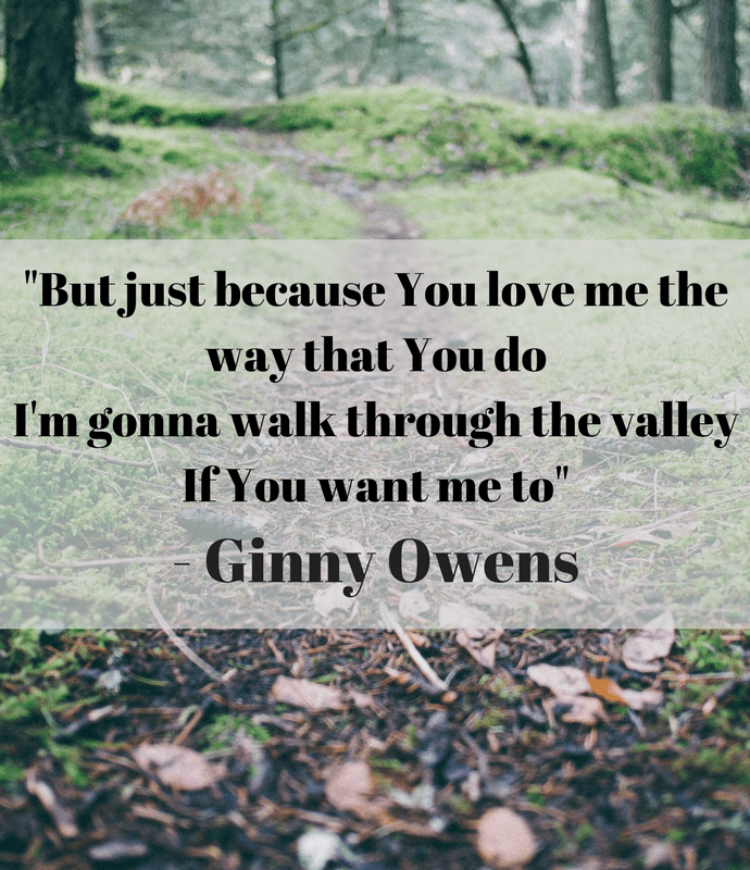 Ginny Owens – If you want me to