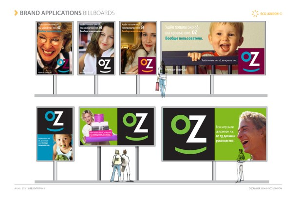 Concept design of Oz retail park – Poster System